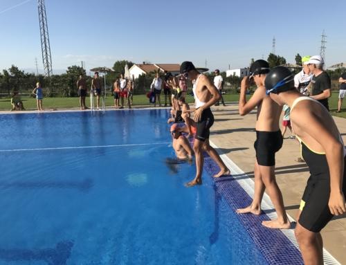 Los más jóvenes disfrutarán de la experiencia del Triatlón Junior de Baza