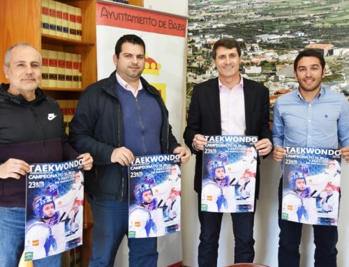 Los más destacados deportistas se dan cita el 23 en Baza para disputar el Campeonato de Andalucía de Taekwondo sub-21 y máster