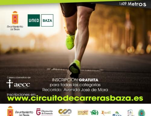 La carrera de la UNED bastetana se celebrará el 27 de octubre como la II Milla UNED de Baza.