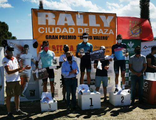 Jose Miguel Suarez Gálvez y Maria Diaz Pernia se hace con la victoria en la V edición del Rally Ciudad de Baza Gran premio David Valero en la categoría élite.